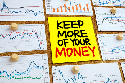 keep more of your money handwritten on post-it