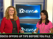 azcentral.com video Tax Goddess offers up tips before you file your taxes.